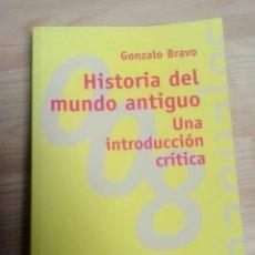 Livros antigos: GONZALO BRAVO HISTORIA DEL MUNDO ANTIGUO. Lote 155106882