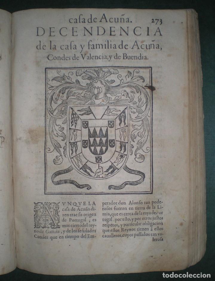 Libros antiguos: Prudencio De Sandoval: CHRONICA DEL INCLITO EMPERADOR DE ESPAÑA, DON ALONSO VII. Año 1600 - Foto 3 - 155162378