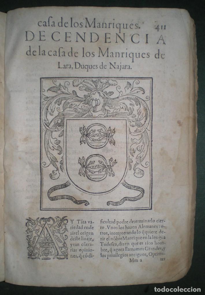 Libros antiguos: Prudencio De Sandoval: CHRONICA DEL INCLITO EMPERADOR DE ESPAÑA, DON ALONSO VII. Año 1600 - Foto 11 - 155162378