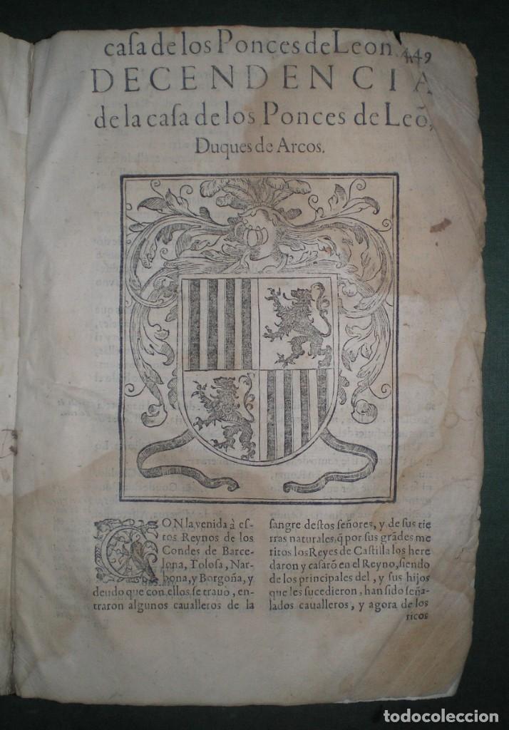 Libros antiguos: Prudencio De Sandoval: CHRONICA DEL INCLITO EMPERADOR DE ESPAÑA, DON ALONSO VII. Año 1600 - Foto 13 - 155162378