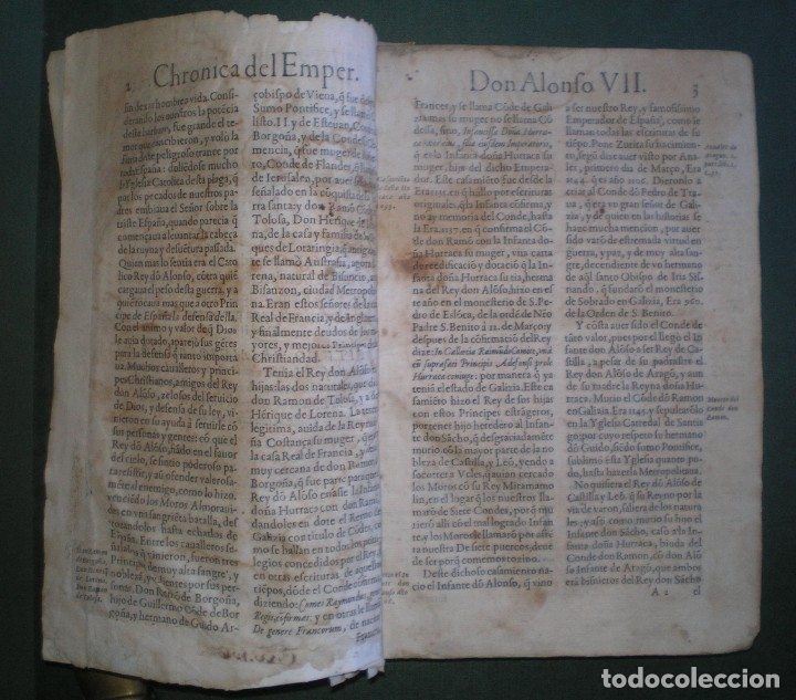 Libros antiguos: Prudencio De Sandoval: CHRONICA DEL INCLITO EMPERADOR DE ESPAÑA, DON ALONSO VII. Año 1600 - Foto 16 - 155162378
