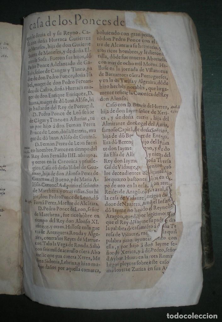 Libros antiguos: Prudencio De Sandoval: CHRONICA DEL INCLITO EMPERADOR DE ESPAÑA, DON ALONSO VII. Año 1600 - Foto 21 - 155162378