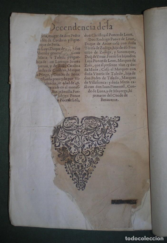 Libros antiguos: Prudencio De Sandoval: CHRONICA DEL INCLITO EMPERADOR DE ESPAÑA, DON ALONSO VII. Año 1600 - Foto 23 - 155162378