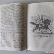 Libros antiguos: LIBRERIA GHOTICA. LOS HEROES Y LAS GRANDEZAS DE LA TIERRA.1855. FOLIO. TOMO 4. MULTITUD DE GRABADOS. Lote 155306386