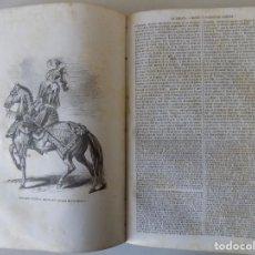 Libros antiguos: LIBRERIA GHOTICA. LOS HEROES Y LAS GRANDEZAS DE LA TIERRA.1855. FOLIO. TOMO 7. MULTITUD DE GRABADOS. Lote 155308802