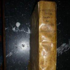 Libros antiguos: ANALES DE CATALUÑA NARCISO FELIV DE LA PEÑA Y FARELL 1709 BARCELONA TOMO TERCERO . Lote 155318246