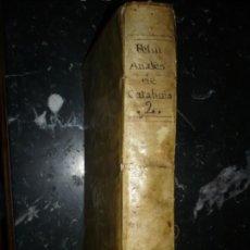 Libros antiguos: ANALES DE CATALUÑA NARCISO FELIV DE LA PEÑA Y FARELL 1709 BARCELONA TOMO SEGUNDO . Lote 155319446
