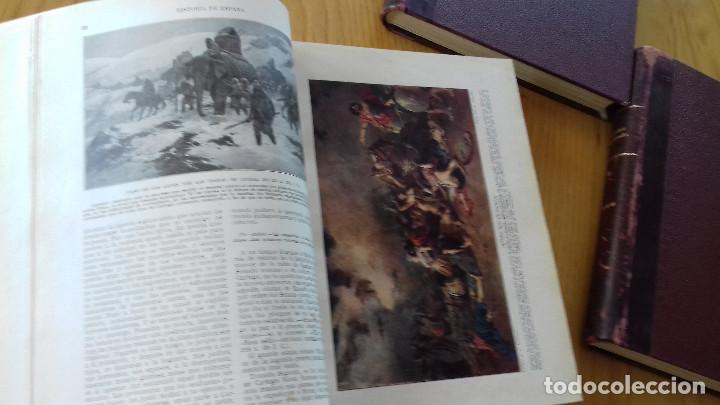 Alte Bücher: HISTORIA DE ESPAÑA-COMPLETA 3 TOMOS- ED. SEGUÍ (BARCELONA)- 19??-ENCUADERNADO EXCLUSIVO - Foto 6 - 155339486