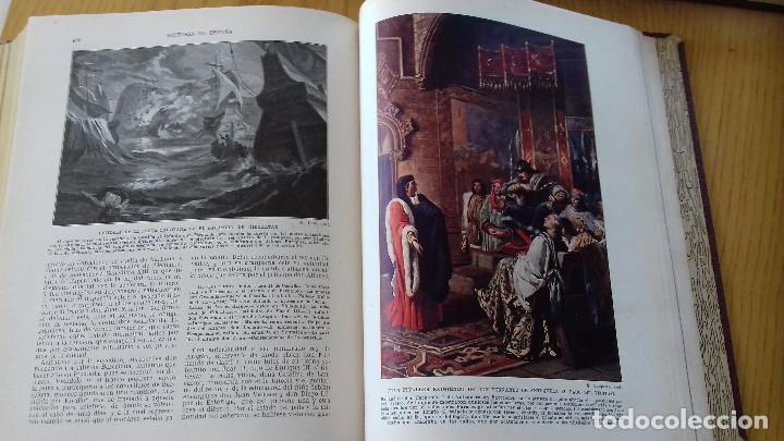 Alte Bücher: HISTORIA DE ESPAÑA-COMPLETA 3 TOMOS- ED. SEGUÍ (BARCELONA)- 19??-ENCUADERNADO EXCLUSIVO - Foto 9 - 155339486