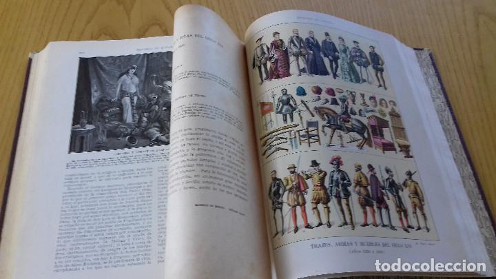 Alte Bücher: HISTORIA DE ESPAÑA-COMPLETA 3 TOMOS- ED. SEGUÍ (BARCELONA)- 19??-ENCUADERNADO EXCLUSIVO - Foto 10 - 155339486