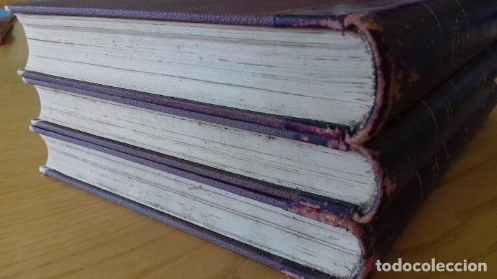 Alte Bücher: HISTORIA DE ESPAÑA-COMPLETA 3 TOMOS- ED. SEGUÍ (BARCELONA)- 19??-ENCUADERNADO EXCLUSIVO - Foto 12 - 155339486