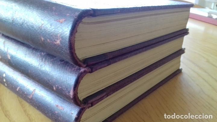 Alte Bücher: HISTORIA DE ESPAÑA-COMPLETA 3 TOMOS- ED. SEGUÍ (BARCELONA)- 19??-ENCUADERNADO EXCLUSIVO - Foto 13 - 155339486
