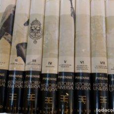 Libros antiguos: JACQUES PIRENNE, HISTORIA UNIVERSAL, 8 TOMOS, COMPLETA. ED. EXITO. 6 ED. 1970.REF 003. Lote 155355382