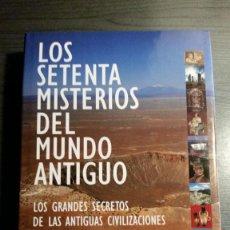 Libros antiguos: LOS SETENTA MISTERIOS DEL MUNDO ANTIGUO. Lote 155491682