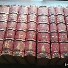 Libros antiguos: HISTORIA UNIVERSAL. CESAR CANTÚ. 1875. IMPRENTA Y LIBRERIA GASPAR. 10 TOMOS. Lote 155497306