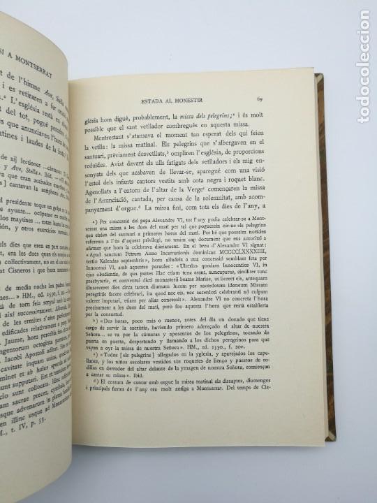 Libros antiguos: Sant Ignasi a Montserrat 1935 - Foto 3 - 155492102