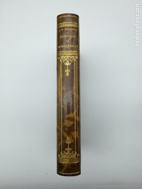 HISTÒRIA DE MONTSERRAT 1931 (Libros antiguos (hasta 1936), raros y curiosos - Historia Antigua)