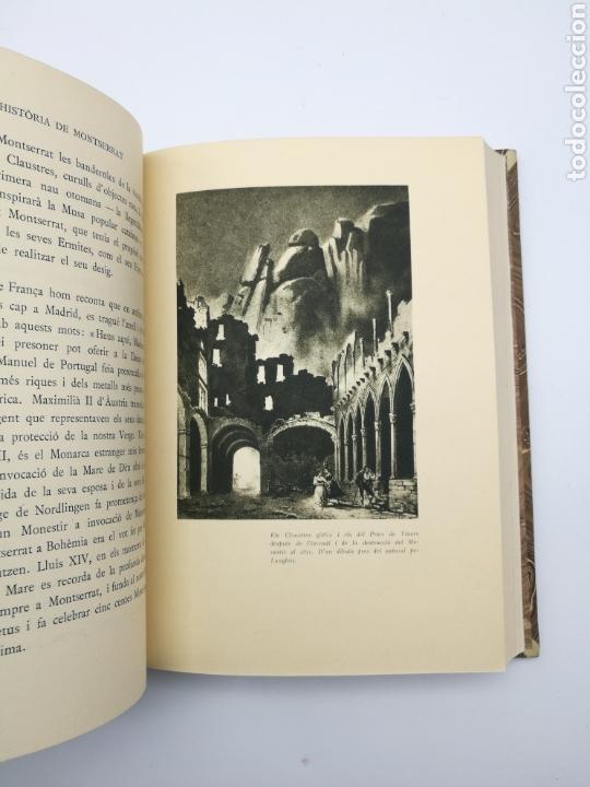 Libros antiguos: Història de Montserrat 1931 - Foto 4 - 155504602