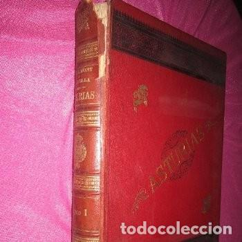 ASTURIAS DE BELLMUNT Y CANELLA TOMO 1 1ª EDICION AÑO 1895 . (Libros antiguos (hasta 1936), raros y curiosos - Historia Antigua)