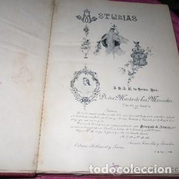 Libros antiguos: ASTURIAS DE BELLMUNT Y CANELLA TOMO 1 1ª EDICION AÑO 1895 . - Foto 4 - 155532046