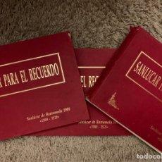 Libros antiguos: LIBROS SANLUCAR PARA EL RECUERDO. Lote 155678838