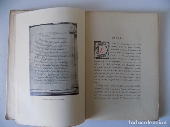 LIBRERIA GHOTICA. COL.LECCIÓ DE MANUSCRITS INÈDITS DE SANTA MARIA DE POBLET. 1948.MANUSCRIT NUM.5. (Libros antiguos (hasta 1936), raros y curiosos - Historia Antigua)