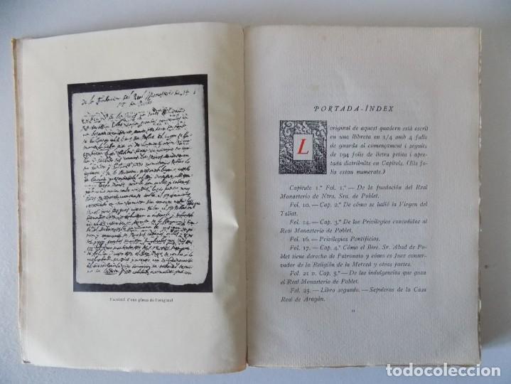 Libros antiguos: LIBRERIA GHOTICA. COL.LECCIÓ DE MANUSCRITS INÉDITS. 1949.TIRAJE NUMERADO 150 EJEMPLARES. PAPEL HILO. - Foto 4 - 155798474