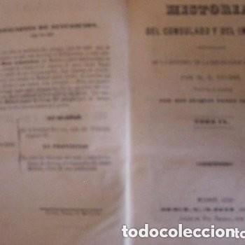 Libros antiguos: HISTORIA DE LA REVOLUCION FRANCESA 17 TOMOS 1846 - Foto 13 - 155800322
