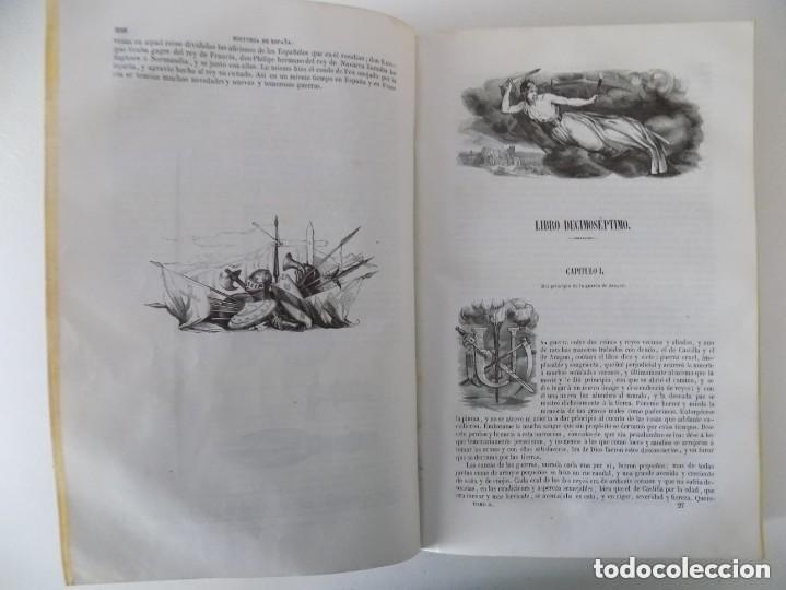 Libros antiguos: LIBRERIA GHOTICA. PADRE MARIANA.HISTORIA GENERAL DE ESPAÑA.GASPAR Y ROIG 1848.TOMO 2. FOLIO.GRABADOS - Foto 9 - 155820426