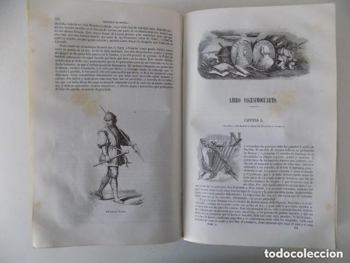 Libros antiguos: LIBRERIA GHOTICA. PADRE MARIANA.HISTORIA GENERAL DE ESPAÑA.GASPAR Y ROIG 1848.TOMO 2. FOLIO.GRABADOS - Foto 15 - 155820426