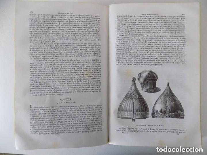Libros antiguos: LIBRERIA GHOTICA. PADRE MARIANA.HISTORIA GENERAL DE ESPAÑA.GASPAR Y ROIG 1848.TOMO 2. FOLIO.GRABADOS - Foto 17 - 155820426