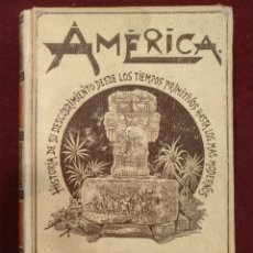 Alte Bücher - America escrita por Rodolfo Cronau, 1892, Tomo II - 155834345