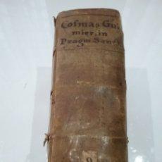 Libros antiguos: LIBRO PRAGMÁTICA SANCTIO, CUM GLOSSIS EGREGII, DOMINI COFMAE GUIMIER PARISINO 1555. TAPAS PERGAMINO. Lote 155903333