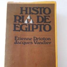 Libros antiguos: LIBRO. HISTORIA DE EGIPTO. Lote 156278730