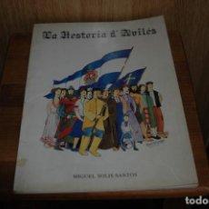 Libros antiguos: LA HISTORIA DE AVILES COMICS EN ASTURIANO AÑO 1984. Lote 156544738