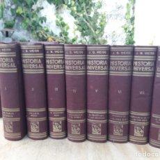 Libros antiguos: HISTORIA UNIVERSAL. Lote 156652701