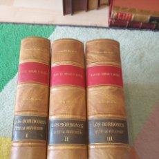 Libros antiguos: LOS BORBONES ANTE LA REVOLUCIÓN. Lote 156689233