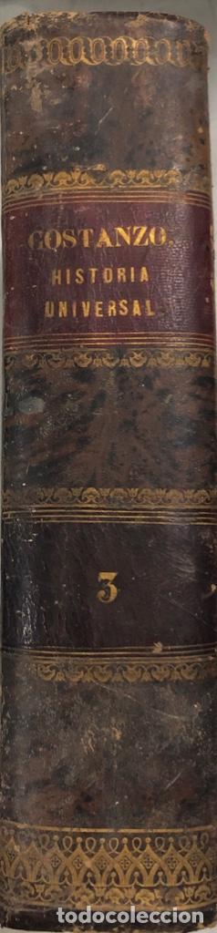 Libros antiguos: HISTORIA UNIVERSAL. TOMO III. SALVADOR COSTANZO. MADRID 1857. PAGS 296. - Foto 2 - 156976842