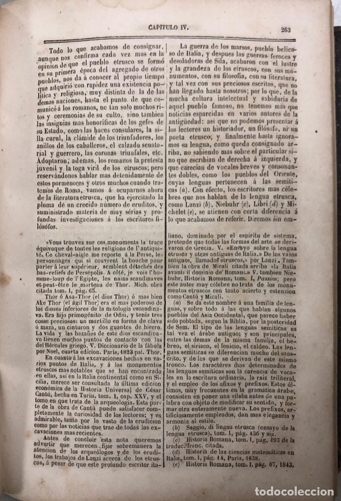 Libros antiguos: HISTORIA UNIVERSAL. TOMO III. SALVADOR COSTANZO. MADRID 1857. PAGS 296. - Foto 4 - 156976842
