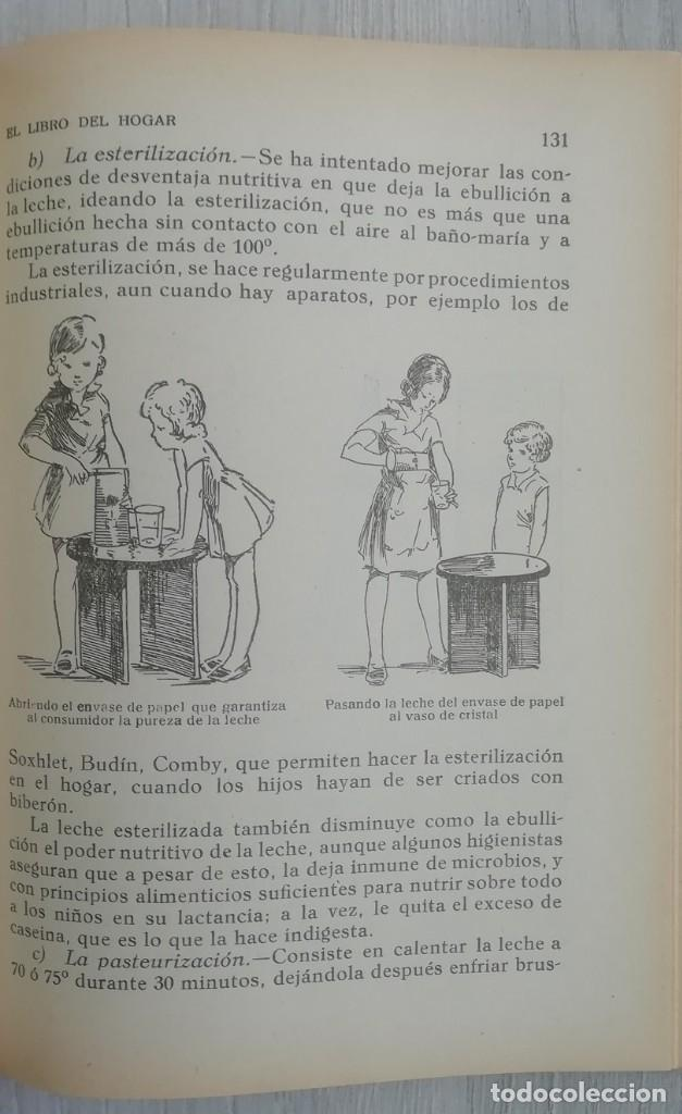 Libros antiguos: Libro del hogar 1946.En este libro se representa el poder del clero y el machismo. MARIA BALDO - Foto 6 - 157000050