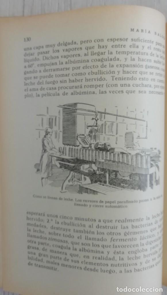 Libros antiguos: Libro del hogar 1946.En este libro se representa el poder del clero y el machismo. MARIA BALDO - Foto 7 - 157000050