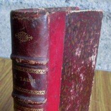 Libros antiguos: LES ORIGINES DE LA FRANCE CONTEMPORAINE - PAR H. TAINE - LA REVOLUTION LA CONQUETE JACOBINE TOME 5. Lote 157286222