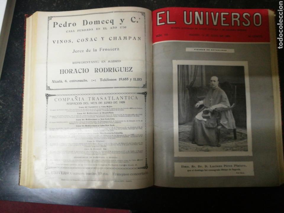 Libros antiguos: Recopilacion revista EL UNIVERSO . 1929 - Foto 2 - 157347001