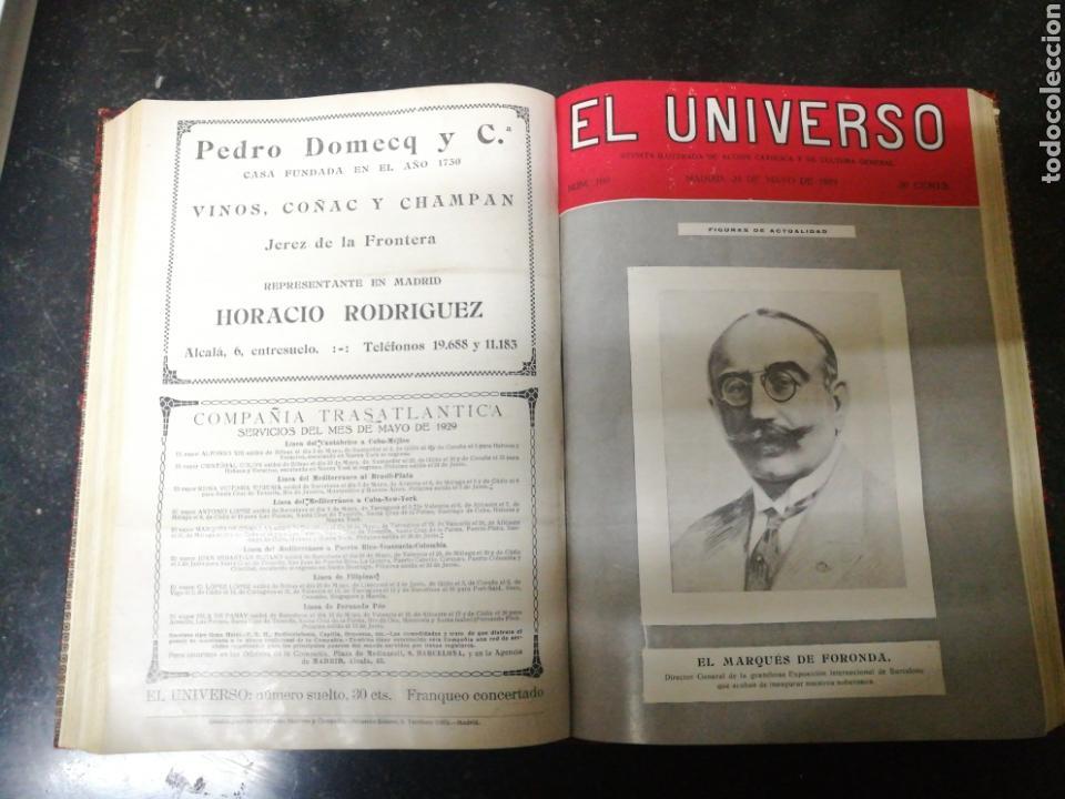 Libros antiguos: Recopilacion revista EL UNIVERSO . 1929 - Foto 3 - 157347001