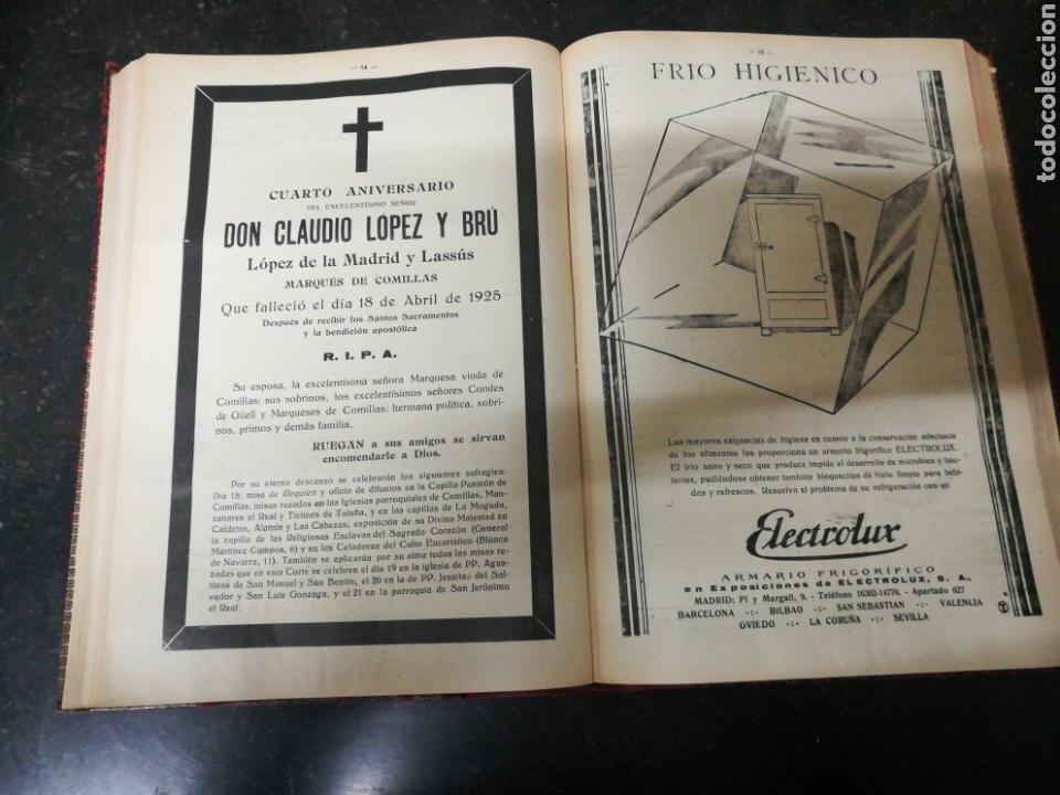 Libros antiguos: Recopilacion revista EL UNIVERSO . 1929 - Foto 7 - 157347001