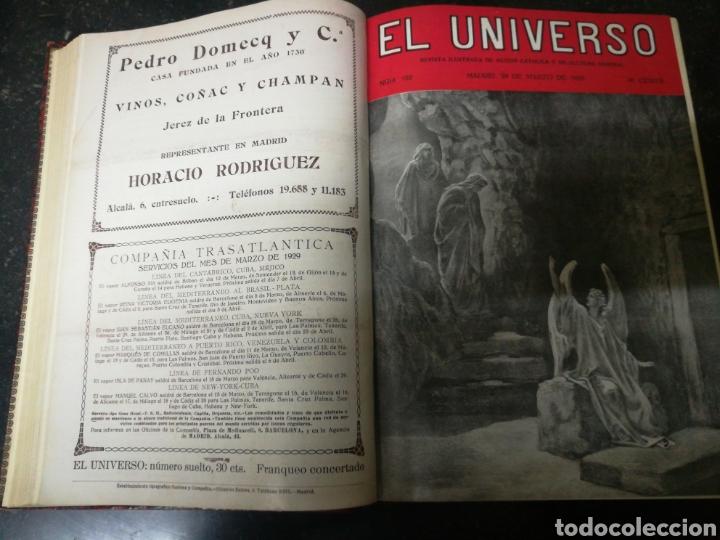 RECOPILACION REVISTA EL UNIVERSO . 1929 (Libros antiguos (hasta 1936), raros y curiosos - Historia Antigua)
