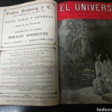 Libros antiguos: RECOPILACION REVISTA EL UNIVERSO . 1929. Lote 157347001