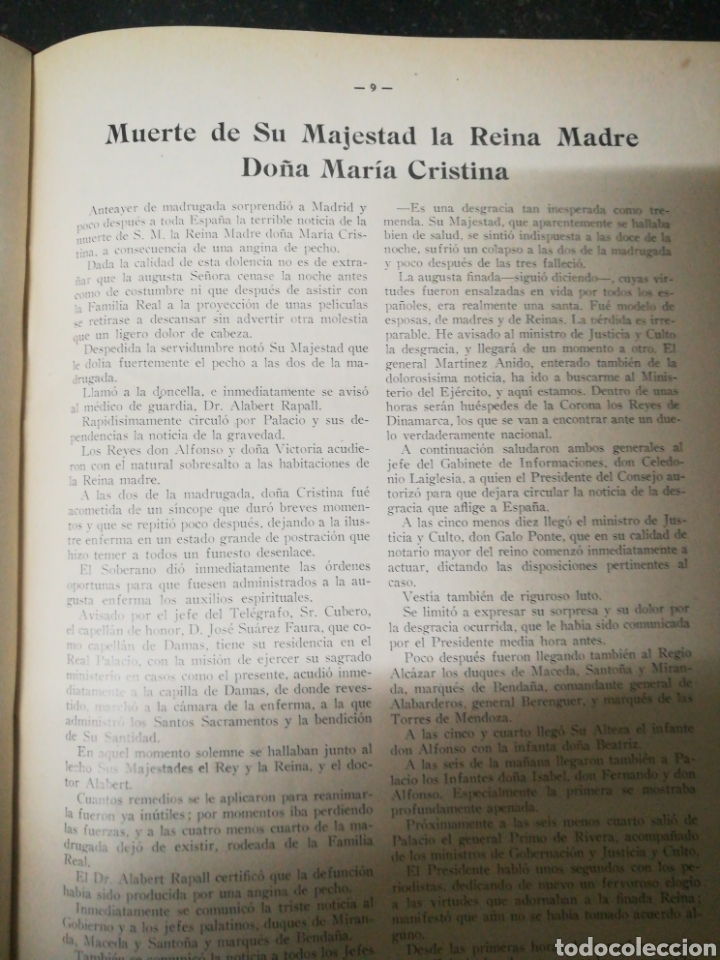 Libros antiguos: Recopilacion revista EL UNIVERSO . 1929 - Foto 9 - 157347001