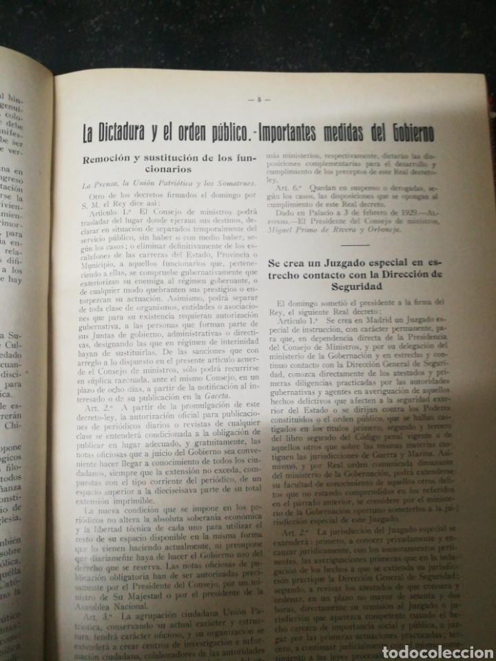 Libros antiguos: Recopilacion revista EL UNIVERSO . 1929 - Foto 10 - 157347001