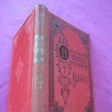 Libros antiguos: POEMAS Y FANTASIAS ENRIQUE HEINE BIBLIOTECA CLASICA AÑOS 1900 ORIGINAL DE EPOCA.. Lote 46203027